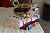 Afghans and Pillows