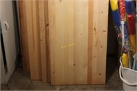 Four Glued Wooden Planks