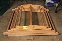 Wooden Collapsible Drying Rack