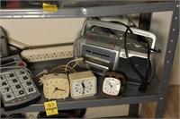 Alarm Clocks, Radios, and More