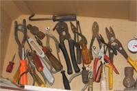 Box of Various Tools