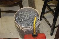Bucket of Metal Clips