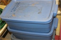 Small Tote with Lid x 4
