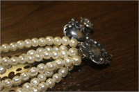.925 Silver and Pearl Necklace