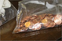 Two Bags of Pennies