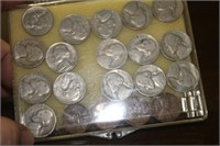 Lot of Jefferson Nickels and Lincoln Cents