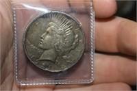 1921 Key Date Silver Peace Dollar