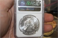 2016 30th Anniversary Silver Eagle NGC MS70