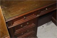 "Vintage Desk, 56X30X30"" tall"