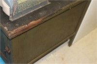"""Antique Wooden Cabinet, 26X32X31"""" tall"""