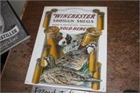 Winchester Metal Sign
