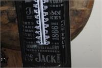 Jack Daniel's Metal Thermometer