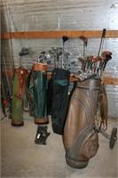 Golf Club & Bags