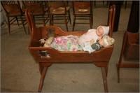 Swinging Baby Cradle