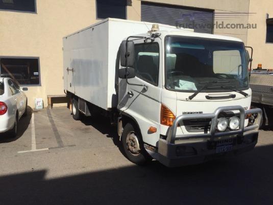 2009 Hino FD Camper Truck truck for sale in Western
