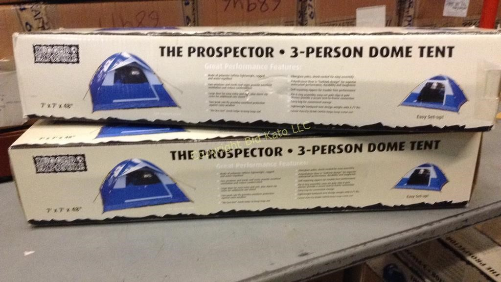 2 Rugged Exposure Prospector 3 Person