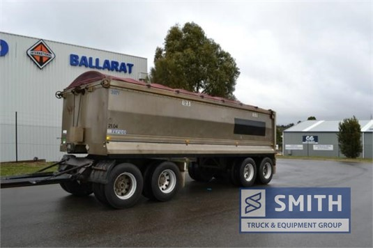 2006 Tefco Tipper Trailer Smith Truck & Equipment Group - Trailers for Sale