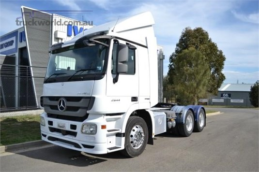 2014 Mercedes Benz Actros 2644 Trucks for Sale