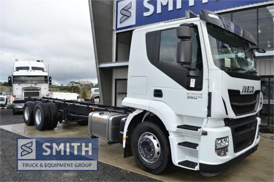 2017 Iveco Stralis Smith Truck & Equipment Group - Trucks for Sale