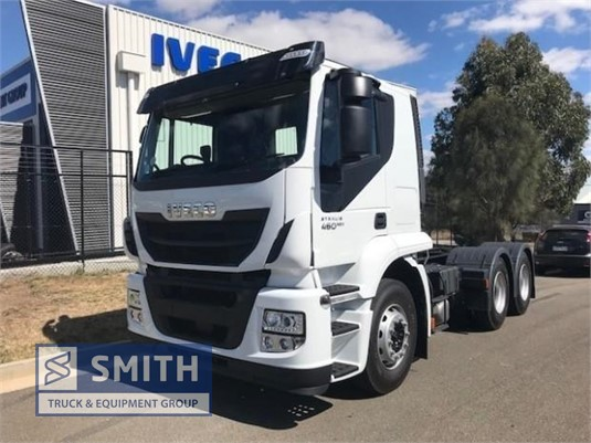 2018 Iveco Stralis ATi460 Smith Truck & Equipment Group - Trucks for Sale