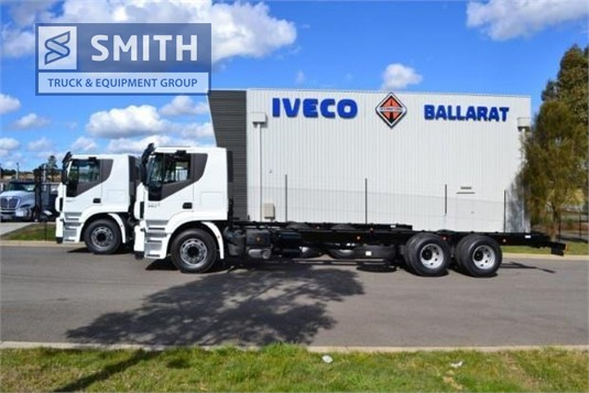2018 Iveco Stralis 360 Smith Truck & Equipment Group - Trucks for Sale