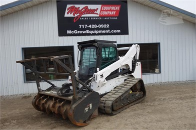 BOBCAT T870 Skid Steer With Forestry Head Auction Results - 1
