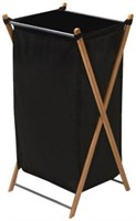 HOUSEHOLD ESSENTIALS 1 COLLAPSIBLE LAUNDRY HAMPER