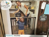 SUMMER INFANT RUSTIC HOME GATE