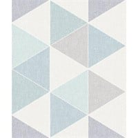 ARTHOUSE VIP WALLPAPER SCANDI TRIANGLE TEAL