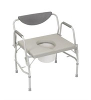 DRIVE BARIATRIC DROP ARM COMMODE