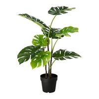 INDOOR PLASTIC POTTED PLANT