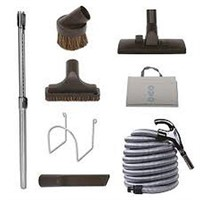 CENTRAL VACUUM CLEANING TOOLS KIT