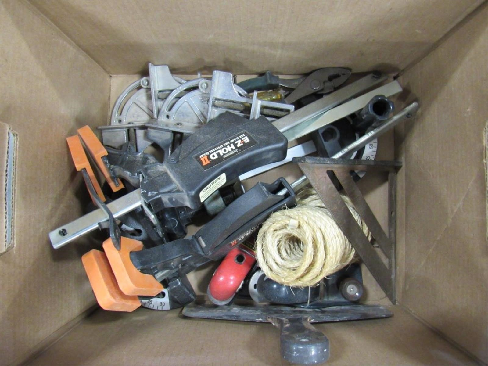 Box Lot Clamps Small Woodworking Tools Musser Bros Inc