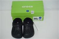 CROCS SIZE 1 BLACK