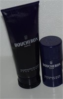 LOT OF BOUCHERON MENS PERSONAL CARE PRODUCTS