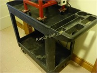 Industrial Rubbermaid Cart on Wheels