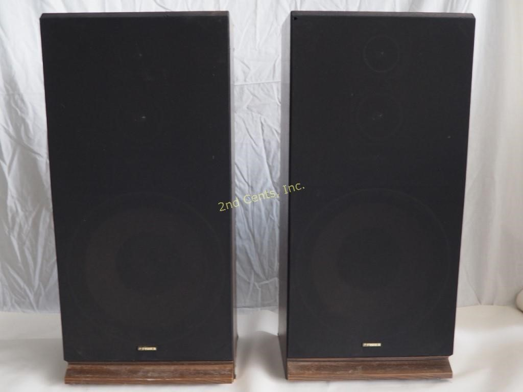Fisher STV 875 Stereo Speakers Pair | 2nd Cents Inc