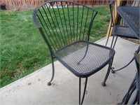 Patio Table, 2 Chairs and Umbrella