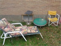 Lawn Chairs, Round Table