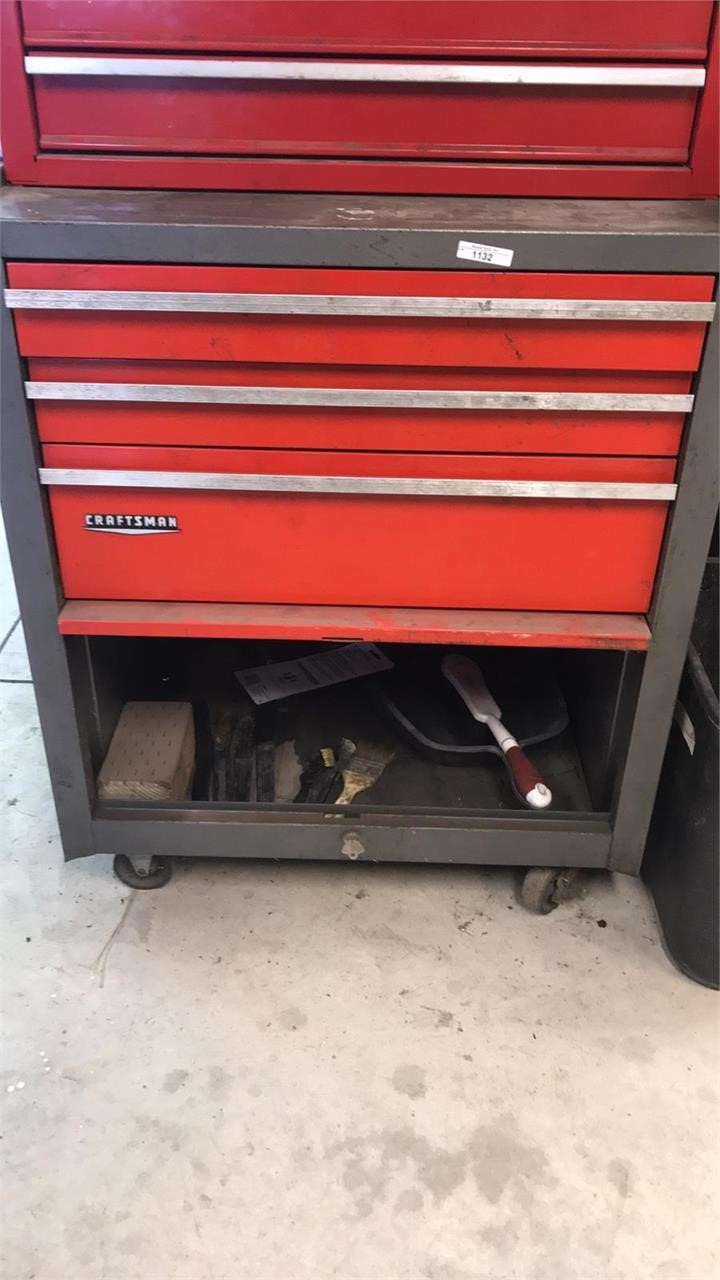 Craftsman Rolling Toolbox & Contents | Musser Bros  Inc