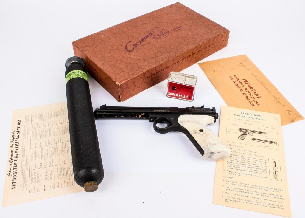 Vintage Crosman 22 Cal  Model 116 CO2 Air Pistol | AZFirearms com