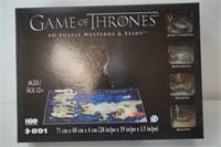 GAME OF THRONES 891 4D PUZZLE WESTEROS & ESSOS