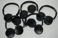LOT OF 5 AKG HEAD PHONES - NOT WORKING