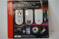 SUNBEAM COLOR CHANGING LED POWER FAILURE 2PACK