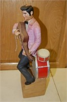 Full ELVIS Decanter with box by McCormick