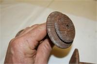 Three Vintage Thread Spools