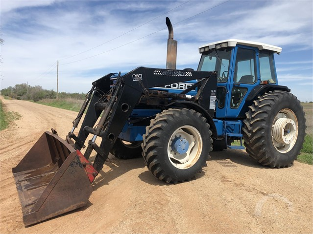 Lot # 9605 - FORD 8730