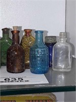 Miniature Collectible Bottles