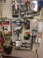 Assorted Hardware, Door Locks & Door Bells