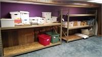 Steel Shelf Unit